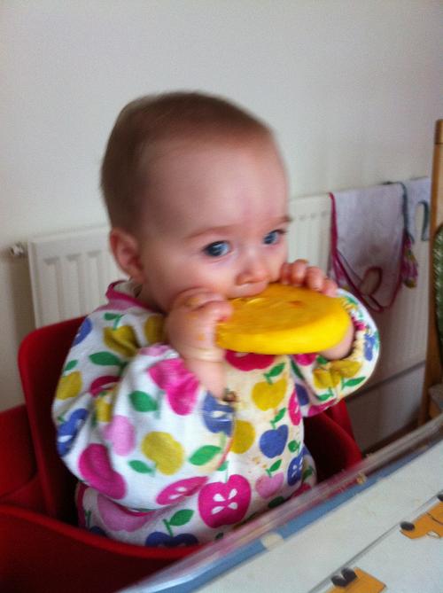 Bea eating